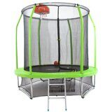 Батут Fitness Gravity Basketball 8FT (Green)